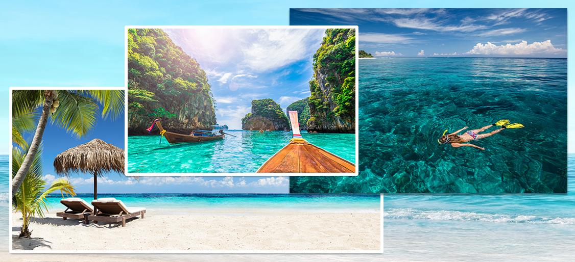 아시아에서 가장 푸른 바다로!