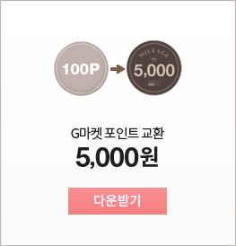 G마켓 포인트 교환 5,000원