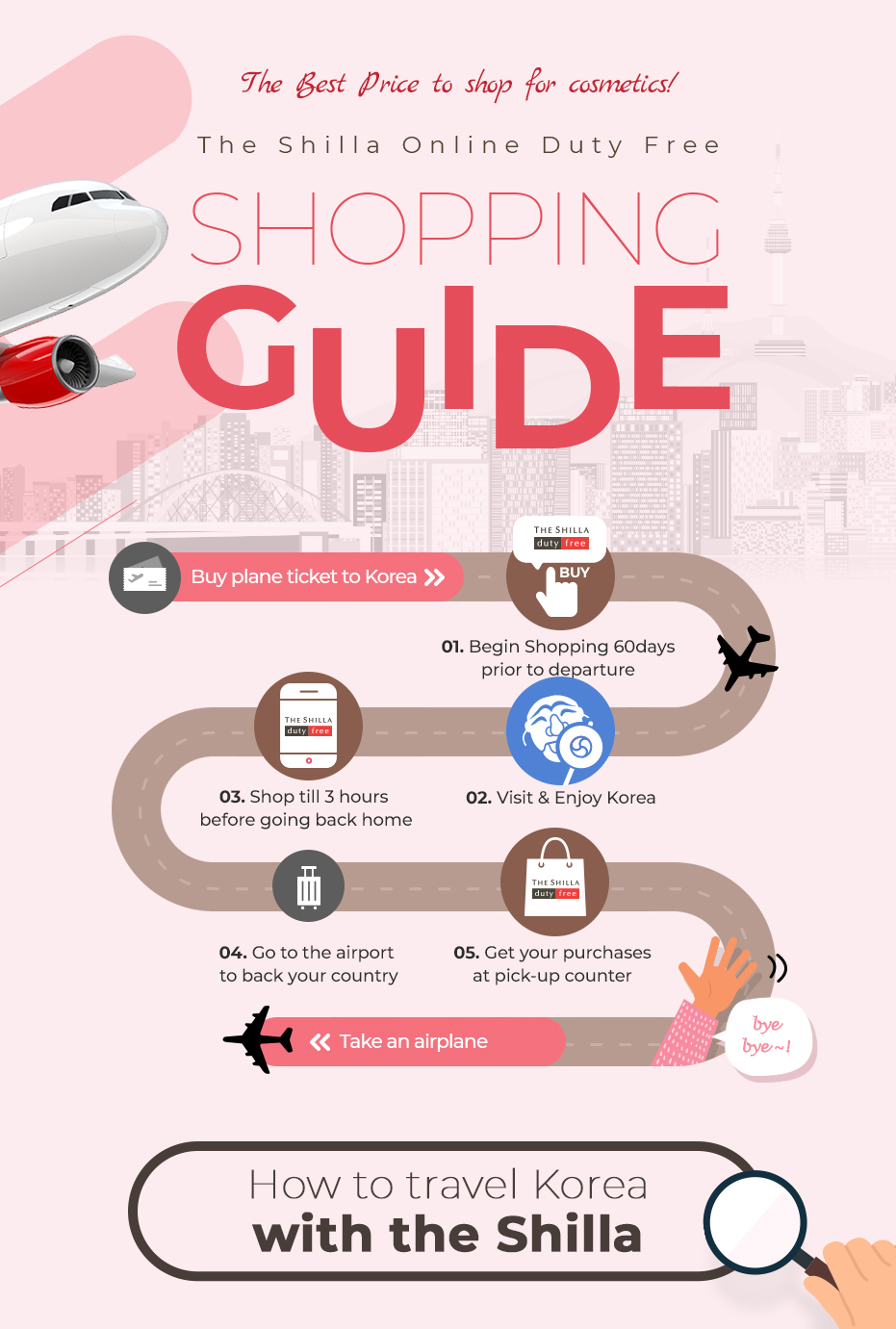 The Best Price to shop for cosmetics ! The Shilla duty free online mall Shopping Guide !
