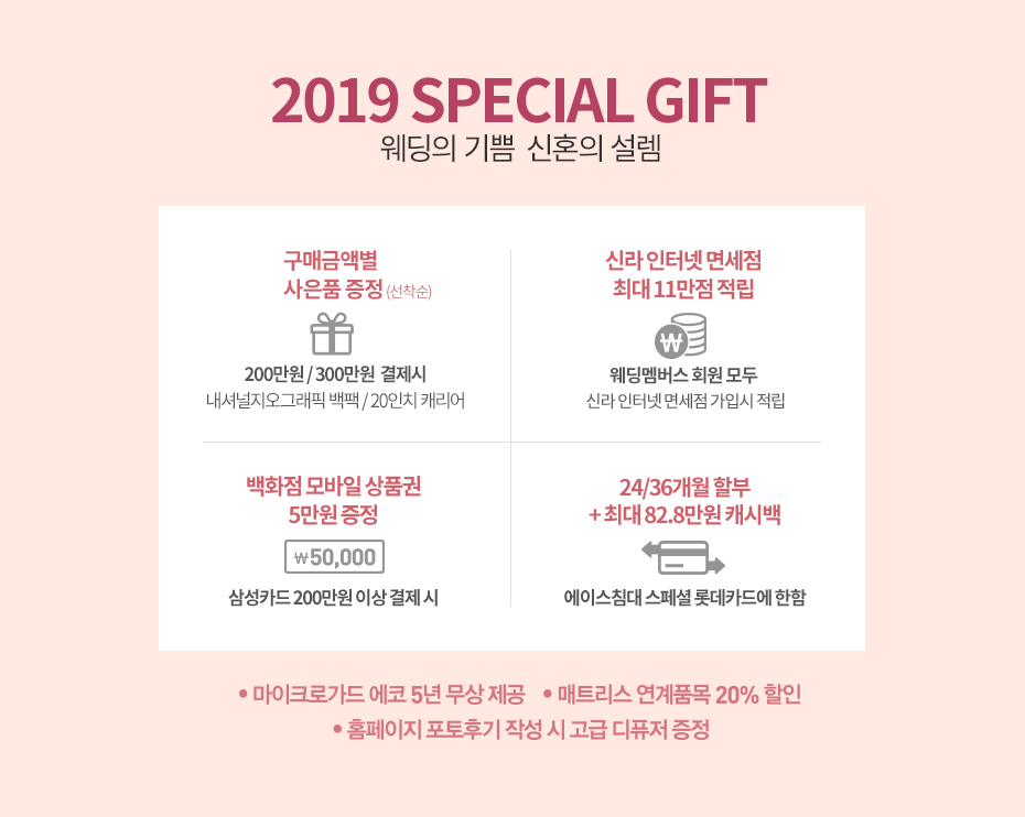2019 SPECIAL GIFT