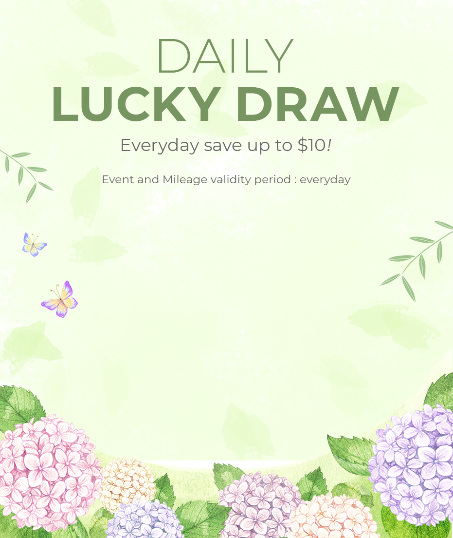 Daily Lucky Draw!