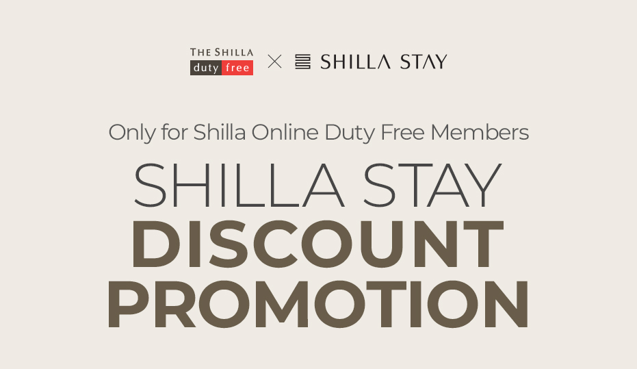 SHILLA STAY DISCOUNT PROMOTION