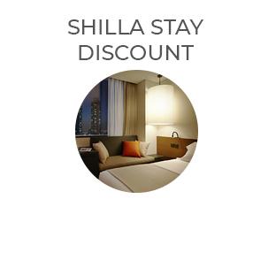 shilla stay   discount