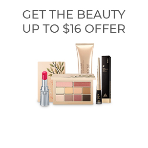 GET THE BEAUTY UP TO $16 OFFER