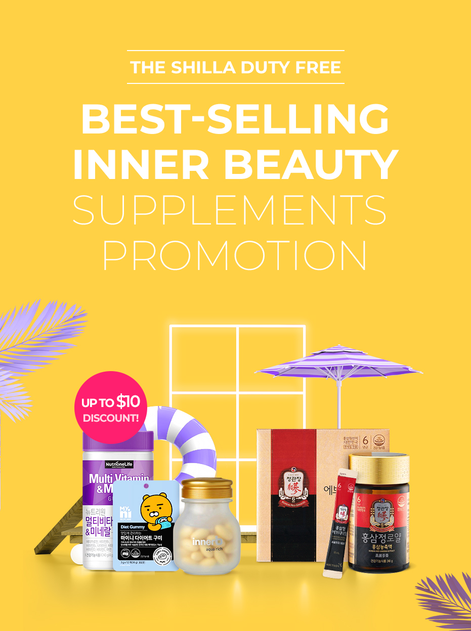 BEST-SELLING INNER BEAUTY SUPPLEMENTS PROMOTION
