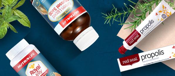 뉴트라라이프x레드씰<br>환절기 건강식품 제안전