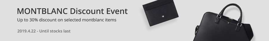 MONTBLANC<br>DISCOUNT EVENT