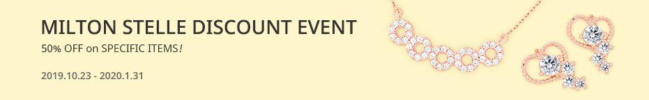 MILTON STELLE<br>DISCOUNT EVENT