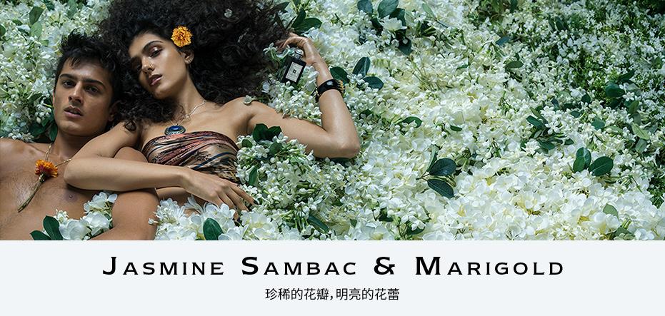 JASMINE SAMBAC & MARIGOLD 珍稀的花瓣,明亮的花蕾