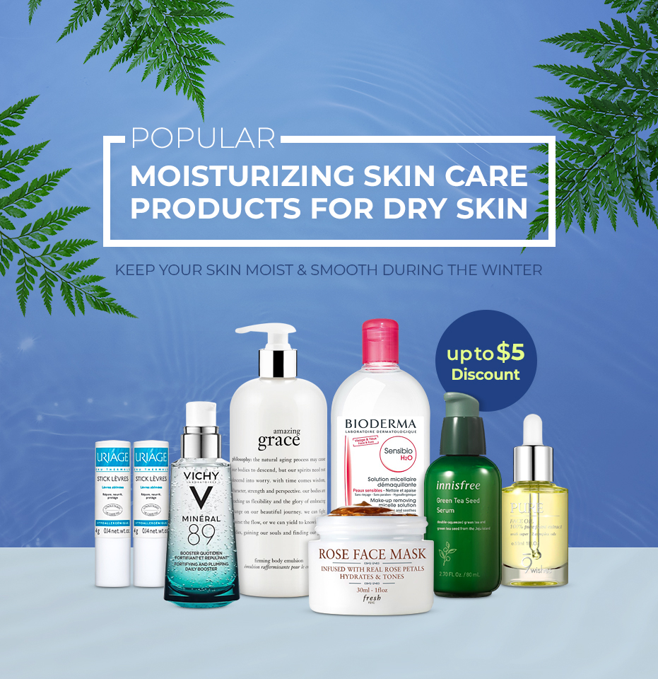 POPULAR MOISTURIZING SKIN CARE PRODUCTS FOR DRY SKIN