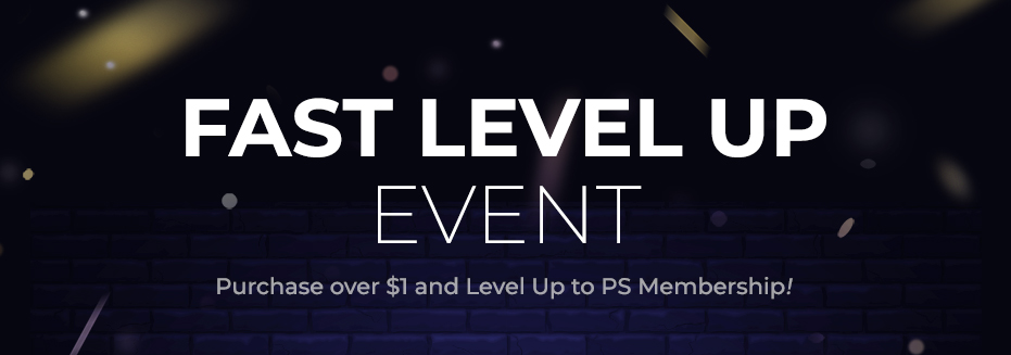 FAST LEVEL UP EVENT