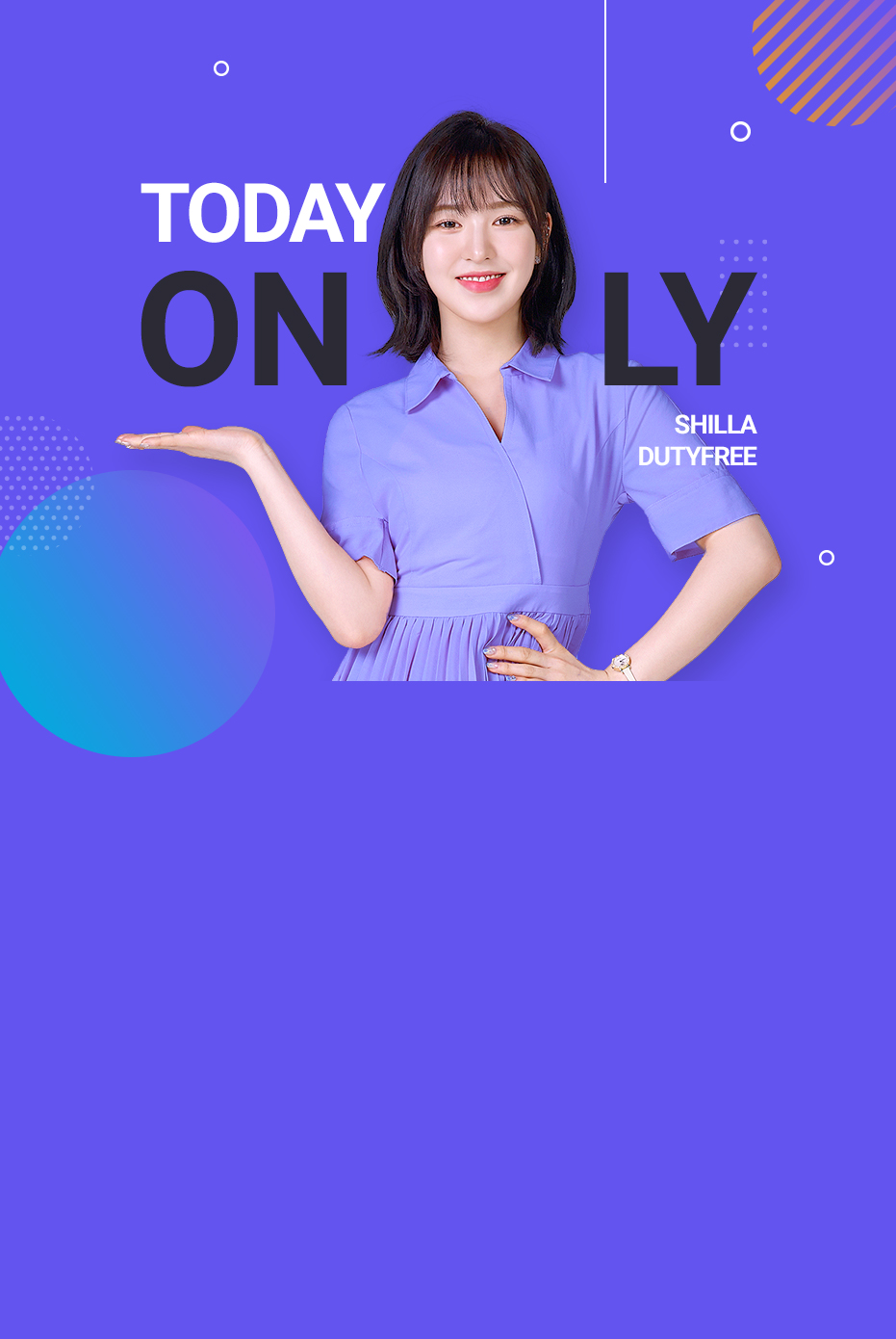 TODAY ONLY SHILLA DUTYFREE