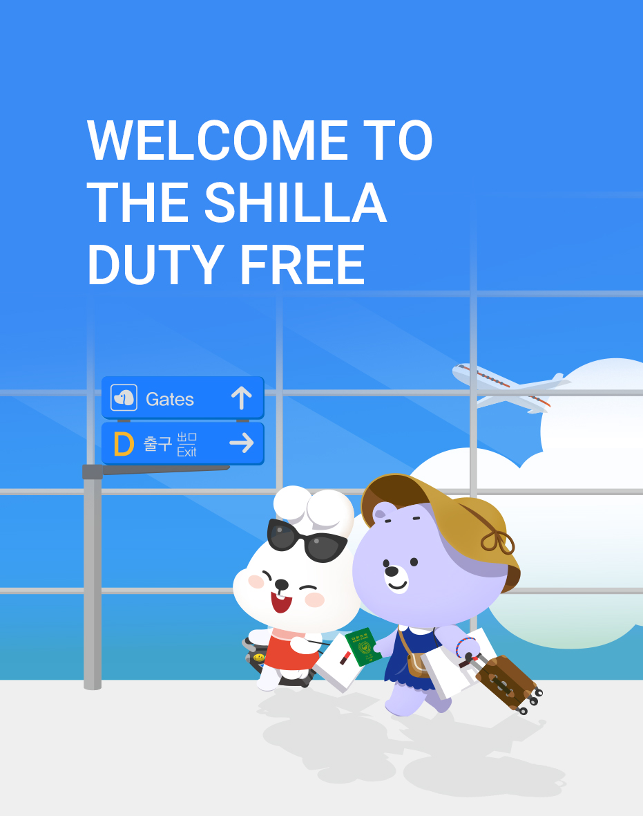 WELCOME TO THE SHILLA DUTY FREE