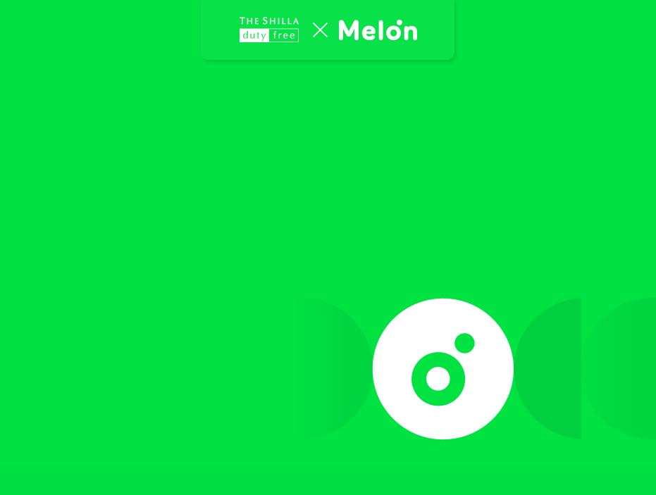THE SHILLA duty free X Melon